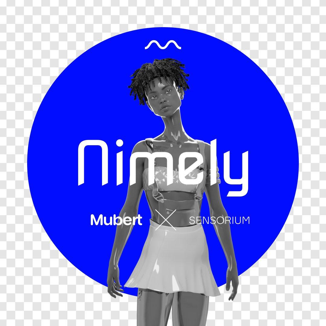 AI DJs: Nimely — a virtual influencer powered by Mubert & Sensorium — Mubert Blog